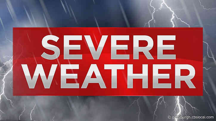 Severe Thunderstorm Watch Issued For Parts Of Pennsylvania, Ohio, West Virginia