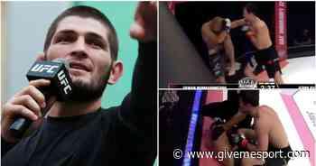 MMA news: Khabib Nurmagomedov's cousin Usman produces dominant display in 40-second win - GIVEMESPORT