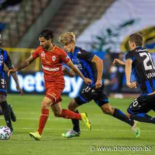 Antwerp verrast: 0-1 tegen Club Brugge in bekerfinale