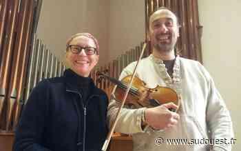 Royan : un violon se marie au « chant » de l'orgue - Sud Ouest