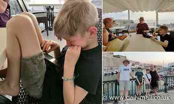 Schoolboy sobs as Jet2 cuts family's dream holiday in Spain short