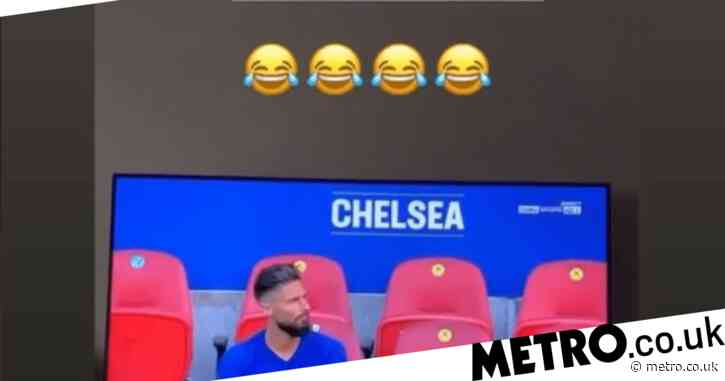 Alexandre Lacazette shares social media post trolling Olivier Giroud after Arsenal FA Cup win