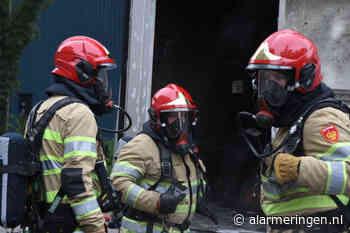 Middelbrand in Steenwijk op Oevers | 31 juli 2020 17:33 - Alarmeringen.nl