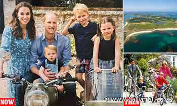 Prince William enjoys a nostalgic family break to island where he holidayed with Charles and Diana