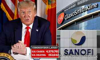 US gov announces $2.1bn deal with pharma companies to make 100 million doses of coronavirus vaccine