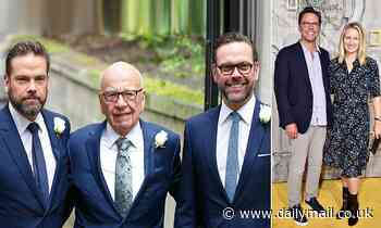 James Murdoch steps down after he and his wife grew disillusioned with company's coverage