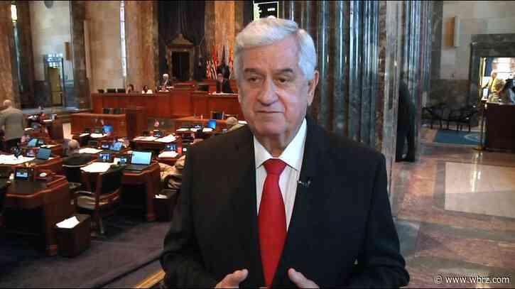 Former Louisiana Senate President John Alario hospitalized for COVID-19