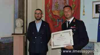 Alluvione Palermo, premiato a Bagheria il poliziotto eroe - Il Messaggero