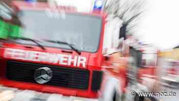 Holzschuppen brennt in Werlte - noz.de - Neue Osnabrücker Zeitung
