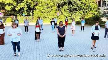 Albstadt: Die Absolventen der Schillerschule in Onstmettingen sind mit Abstand die Besten - Albstadt - Schwarzwälder Bote