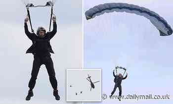 Tom Cruise throws himself out of helicopter from 10,000ft