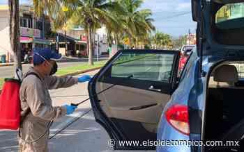 [Video] Gran éxito en jornada de sanitización de BioShield Tampico - El Sol de Tampico