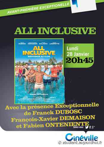 ALL INCLUSIVE - CINEVILLE, HENIN BEAUMONT, 62110 - Sortir à France - Le Parisien Etudiant