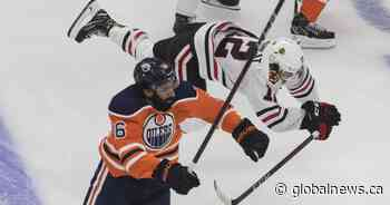 Blackhawks soar past Edmonton Oilers in game one