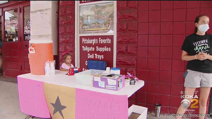 'Lizzie's Lemonade' Raising Money For Pittsburgh Cultural Trust