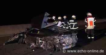 Schwerer Unfall auf A5 bei Weiterstadt - Echo Online