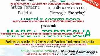 """""""Made in Torreglia"""" nuova data: negozi, cibo e vino all'Antica trattoria Ballotta - PadovaOggi"""