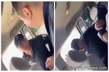 Policías de Zumpango agreden a hombre frente a su esposa e hijo #VIDEO - PacoZea.com