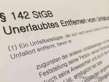Satteldorf + Feuchtwangen: +++ Nach Unfallflucht in Baden-Württemberg: flüchtiger Verursacher gestoppt +++ - Fränkischer.de