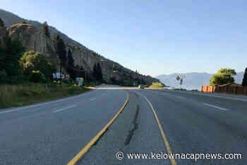 Province to install highway barriers between Penticton, Summerland - Kelowna Capital News