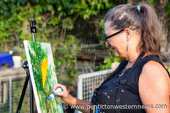 Penticton group hosts art in the garden event to expand fresh produce project - Pentiction Western News