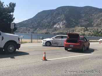 Two-vehicle crash mars traffic on Hwy 97 at Airport Road - Penticton News - Castanet.net