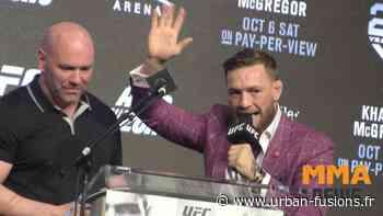 Dana White pense que le retour de Conor McGregor a du sens `` au bon moment '' | MMA - Urban Fusions