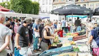 Saint-Omer: le masque obligatoire au marché, «une question de bon sens» - La Voix du Nord