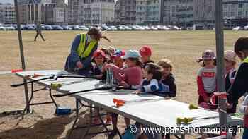 Le tir à l'arc au Village des sports à Dieppe, la belle découverte de l'été - Paris-Normandie
