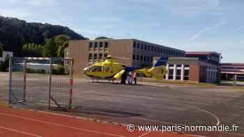 À Cany-Barville, près de Dieppe, grave accident de la circulation impliquant une voiture et une moto - Paris-Normandie