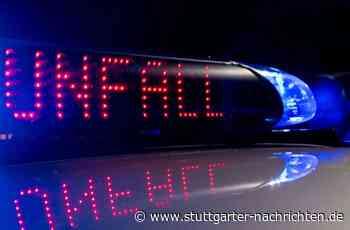 Fahrerflucht bei Gerlingen - BMW in Leitplanke abgedrängt - Stuttgarter Nachrichten