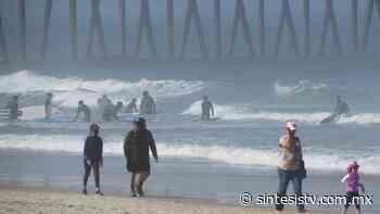 ¡Ni vaya! Continúan cerradas las playas en Rosarito - Sintesis Tv