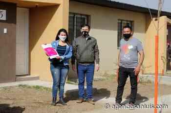 """  Mones Ruiz: """"Se ha beneficiado a personas en situación de vulnerabilidad"""" - Agencia de Noticias San Luis"""