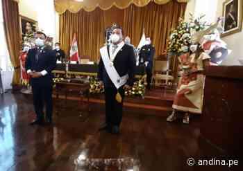 Primer regidor José Ruiz Vega juró como nuevo alcalde provincial de Trujillo - Agencia Andina