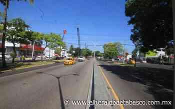 Mañana cierre de circulación en boulevard Adolfo Ruiz Cortines - El Heraldo de Tabasco