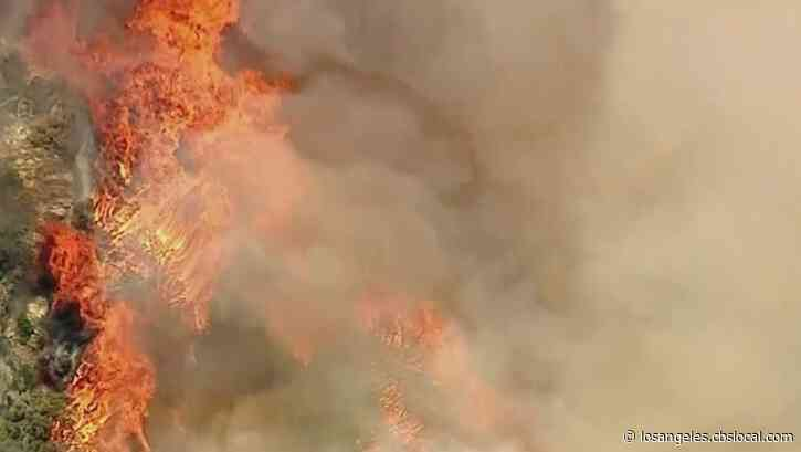 Families Forced Out Of Their Homes As Apple Fire Continues To Grow Past 4,000 Acres