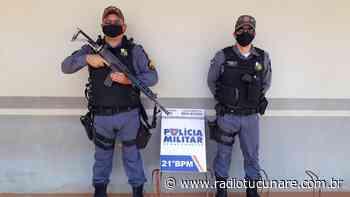 Dois homens de Juina foram presos pela patrulha rural acusados de furtarem 02 residências em Juara - Rádio Tucunaré - A serviço da Informação de Juara e região