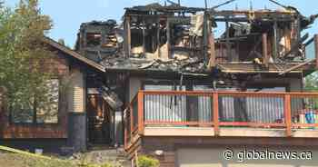 Lumby, B.C., family forced from home after house gutted by flames - Globalnews.ca