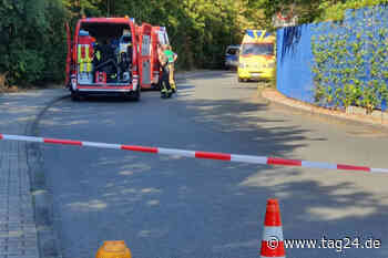Reizendes Gas im Polizeirevier Markkleeberg ausgetreten: Gebäude geräumt - TAG24
