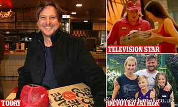 Dougie the pizza delivery boy Diarmid Heidenreich reveals the moment his life changed forever