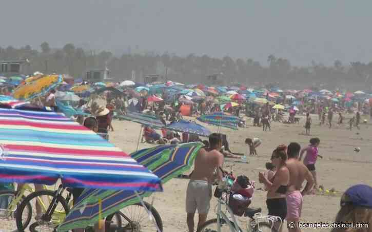 Locals, Visitors Welcome August Heat With A Day At The Beach