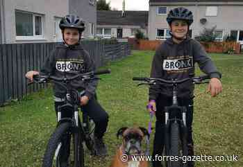 Brothers from Thornhill, Forres cycling to Grantown-on-Spey (return) to raise money for Thistle Boxer Rescue charity - Forres Gazette