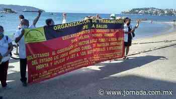 Médicos protestan en Acapulco por asesinato de directora de hospital - La Jornada