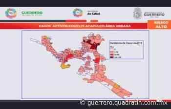 Progreso, Zapata y Renacimiento, colonias con más contagios en Acapulco - Quadratin Guerrero