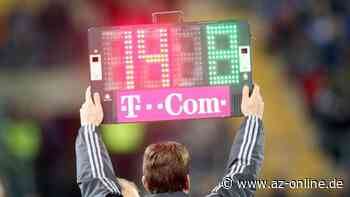 Fußball: Wieder ein- und auswechseln nach Belieben - az-online.de