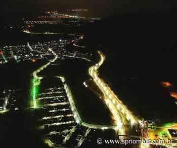 Caraguatatuba aposta em iluminação LED para aumentar a segurança - SP Rio +
