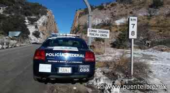 Realiza recorridos la Guardia Nacional en carretera Janos-Agua Prieta - Puente Libre La Noticia Digital