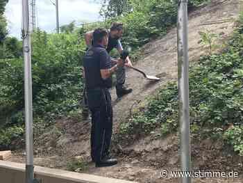 Sprengkörper bei Bauarbeiten in Weinsberg entdeckt - Heilbronner Stimme