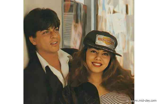 Gauri Khan shares throwback picture, recalls the time she got married to Shah Rukh Khan at son Aryan's age
