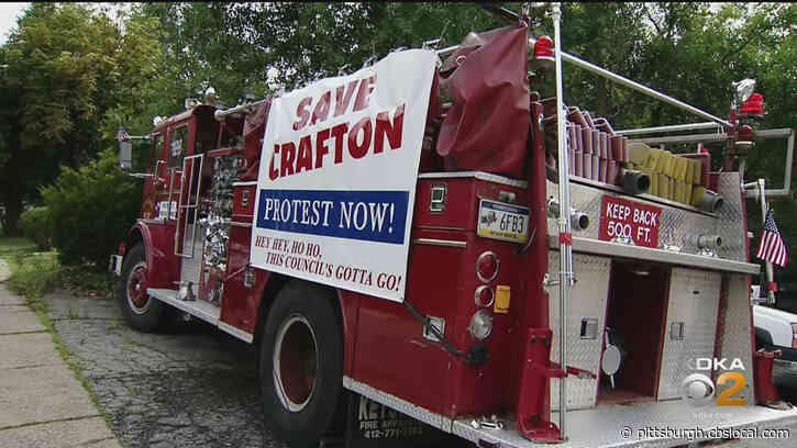 Residents Of Crafton Organize Protest Against Borough Council